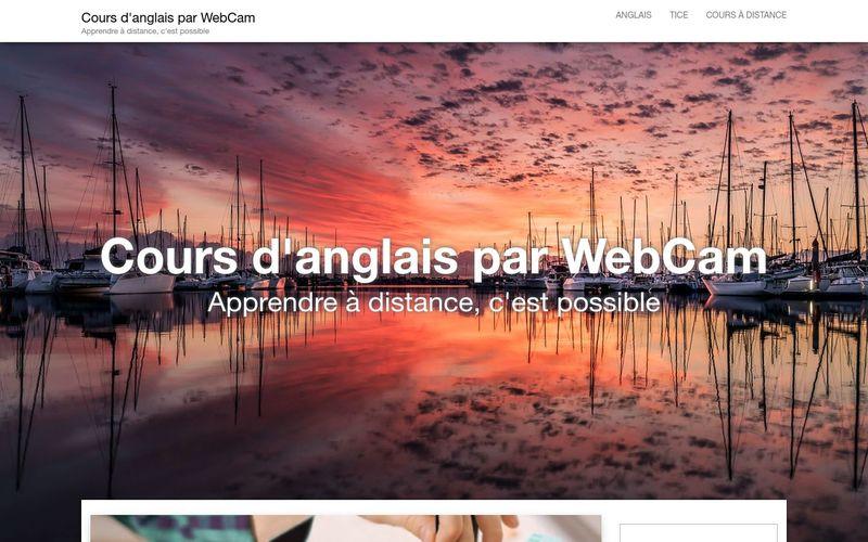 Cours d'anglais par WebCam : apprendre à distance, c'est possible